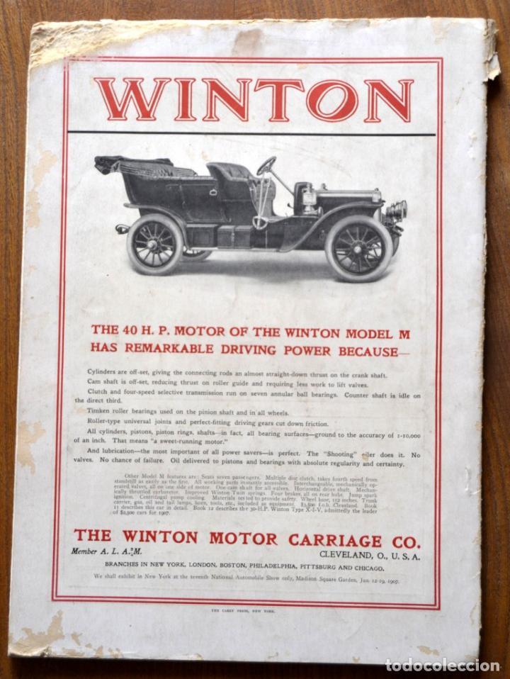 Coches y Motocicletas: Año 1906 - Vol.1 Nº 4 / MOTOR - Trade Edition / Vehiculos de Epoca / Anuncios Publicidad - Foto 2 - 84162856