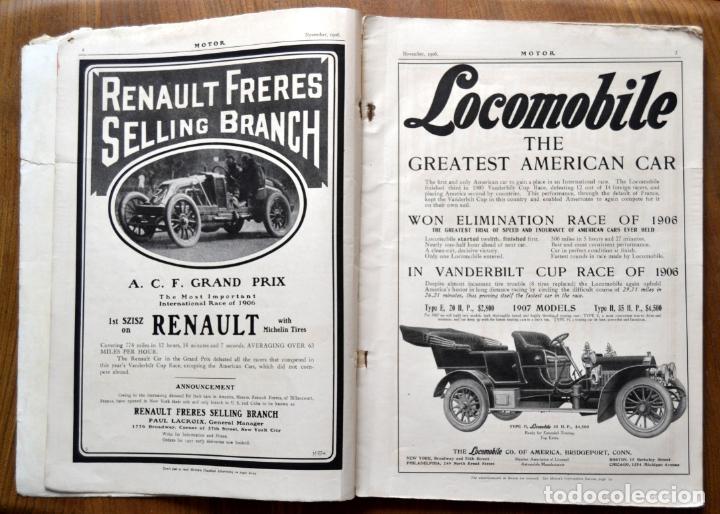 Coches y Motocicletas: Año 1906 - Vol.1 Nº 4 / MOTOR - Trade Edition / Vehiculos de Epoca / Anuncios Publicidad - Foto 4 - 84162856