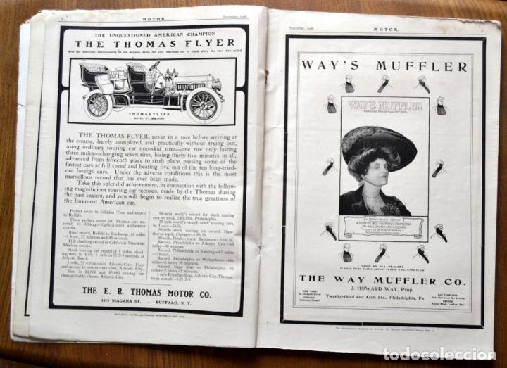 Coches y Motocicletas: Año 1906 - Vol.1 Nº 4 / MOTOR - Trade Edition / Vehiculos de Epoca / Anuncios Publicidad - Foto 6 - 84162856