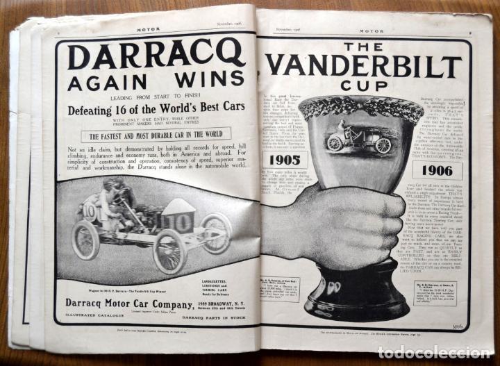 Coches y Motocicletas: Año 1906 - Vol.1 Nº 4 / MOTOR - Trade Edition / Vehiculos de Epoca / Anuncios Publicidad - Foto 7 - 84162856