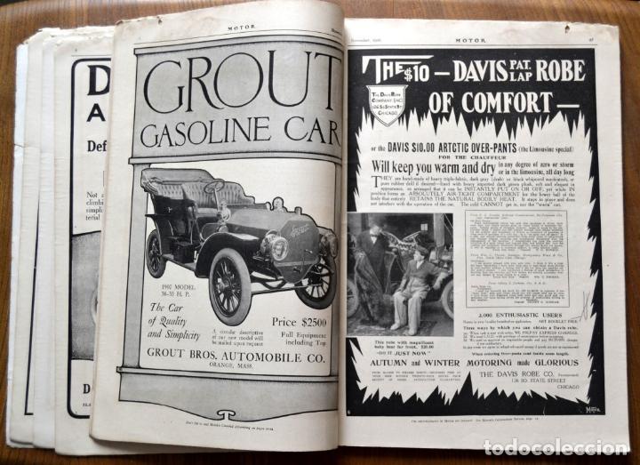 Coches y Motocicletas: Año 1906 - Vol.1 Nº 4 / MOTOR - Trade Edition / Vehiculos de Epoca / Anuncios Publicidad - Foto 10 - 84162856
