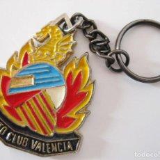 Coches y Motocicletas: INEDITO! LLAVERO MOTO CLUB VALENCIA FALLAS 1989 II CONCENTRACION INTERNACIONAL. Lote 84433480