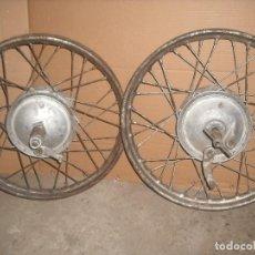 Coches y Motocicletas: LLANTAS DE MOTO BSA ANTIGUA. Lote 87682784