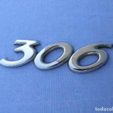 Coches y Motocicletas: INSIGNIA O LOGOTIPO DE COCHE PEUGEOT 306. Lote 89577640