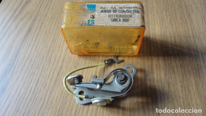 Coches y Motocicletas: ANTIGUO JUEGO DE CONTACTOS.COCHE SIMCA 1000. - Foto 2 - 90373832