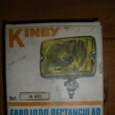 Coches y Motocicletas: FARO RECTANGULAR KINBY. FAESSA. Lote 151092977
