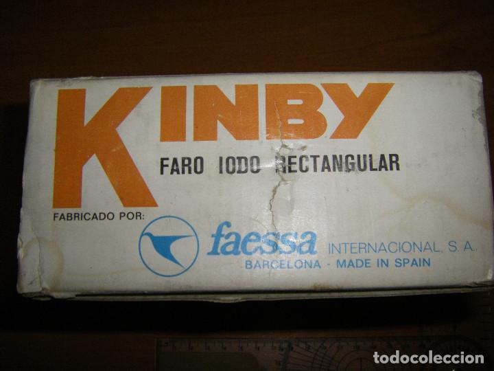 Coches y Motocicletas: Faro rectangular Kinby. Faessa - Foto 4 - 151092977
