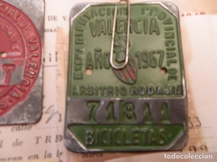 Coches y Motocicletas: IMPUESTOS MUNICIPALES Y PROVINCIALES BICICLETAS,AYUNTAMIENTO ALGEMESI,DIPUTACION DE VALENCIA.1967-68 - Foto 6 - 92249920