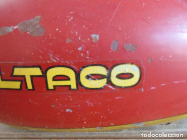 Coches y Motocicletas: DEPOSITO CON TAPON Y LLAVE DE GASOLINA DE LA MOTO MOTOCICLETA BULTACO - Foto 4 - 94325998