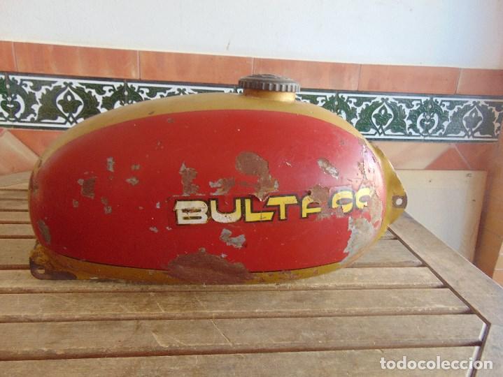 Coches y Motocicletas: DEPOSITO CON TAPON Y LLAVE DE GASOLINA DE LA MOTO MOTOCICLETA BULTACO - Foto 13 - 94325998