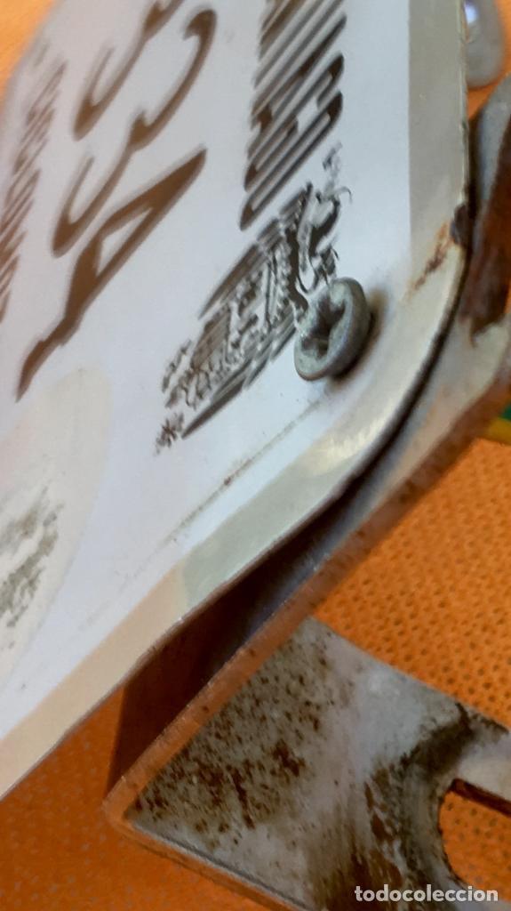 Coches y Motocicletas: Placa matricula villamayor de santiago ciclomotor cuenca la mancha franco escudo franquista - Foto 9 - 94979343