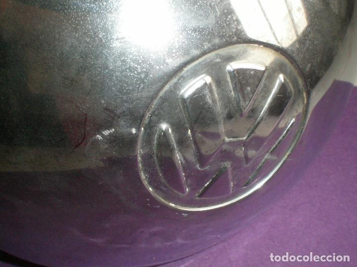 Coches y Motocicletas: VW TAPACUBOS AVOBEDADO FURGONETA VOLKSWAGEN ORIGINAL 1960s T1 T2 BEETLE ESCARABAJO HIPPIE VINTAGE - Foto 3 - 114980172
