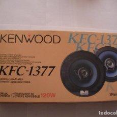 Coches y Motocicletas: PAREJA DE ALTAVOCES KENWOOD 120 W. Lote 96327359