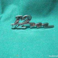 Coches y Motocicletas: PARTE LOGOTIPO 12M 1.2 M IGNORO MARCA. Lote 96457535