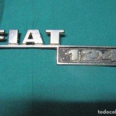 Coches y Motocicletas: LOGOTIPO VEHICULO FIAT 124. Lote 96458435