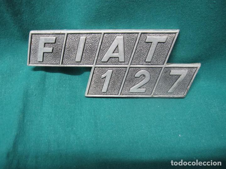 LOGOTIPO ANTIGUO FIAT 127 VEHICULO (Coches y Motocicletas - Repuestos y Piezas (antiguos y clásicos))