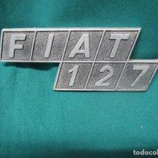 Coches y Motocicletas: LOGOTIPO ANTIGUO FIAT 127 VEHICULO. Lote 96458611