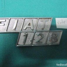 Coches y Motocicletas: LOGOTIPO VEHICULO FIAT 128 LOTE Nº 2. Lote 96458831