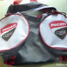 Coches y Motocicletas: DUCATI - BOLSA DE GYM DUCATI CORSE - NUEVA SIN USO. Lote 98635063