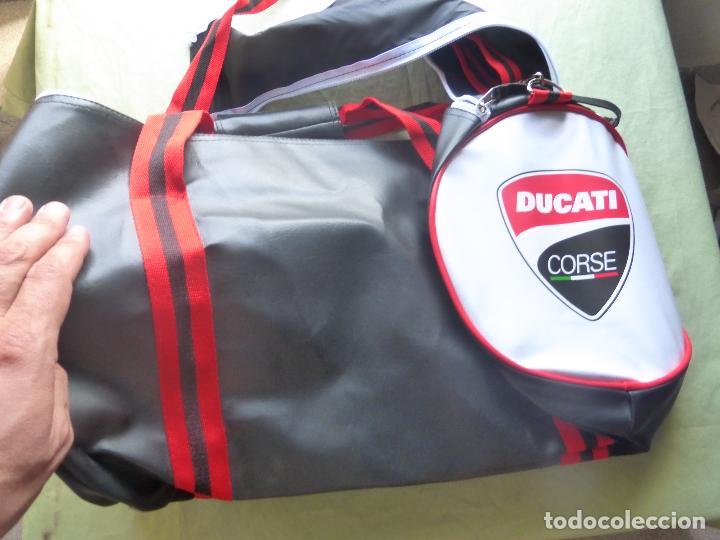 Coches y Motocicletas: DUCATI - Bolsa de gym Ducati Corse - NUEVA SIN USO - Foto 8 - 98635063