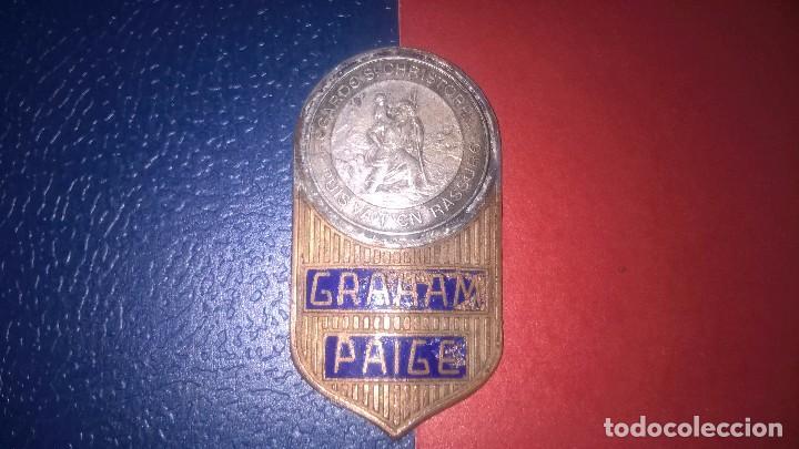 INSIGNIA AUTO GRAHAM PAIGE (Coches y Motocicletas - Repuestos y Piezas (antiguos y clásicos))