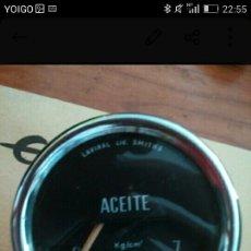Coches y Motocicletas - Reloj presion aceite coche vintage - 100001304