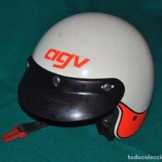 Coches y Motocicletas: CASCO VINTAGE AGV FLASH MADE IN ITALY. Lote 100995775