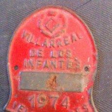 Coches y Motocicletas: 1974 VELOMOTORES VILLARREAL DE LOS INFANTES. Lote 101205787