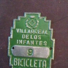 Coches y Motocicletas: 1965 VILLARREAL DE LOS INFANTES. Lote 101205927
