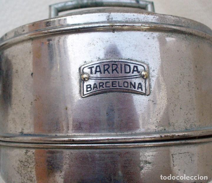 Coches y Motocicletas: ANTIGUO FARO PARA COCHE FABRICADO POR TARRIDA, BARCELONA - FUNCIONAMIENTO A GAS - Foto 7 - 101241831
