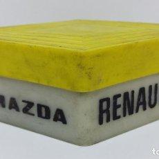 Coches y Motocicletas: ANTIGUA CAJA DE BOMBILLAS DE REPUESTO MAZDA RENAULT. Lote 102100775
