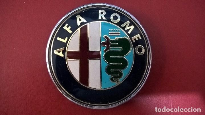 INSIGNIA ALFA ROMEO (ROSCA) (Coches y Motocicletas - Repuestos y Piezas (antiguos y clásicos))