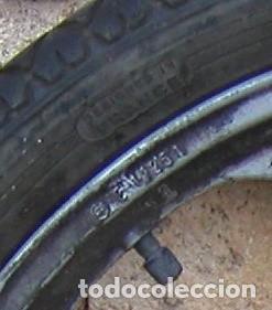 Coches y Motocicletas: RUEDA TRASERA COMPLETA PARA VESPINO ALX ORIGINAL DE CUATRO RADIOS RUEDAS - Foto 4 - 102965043
