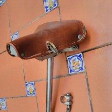Coches y Motocicletas: SILLIN BICI O BICICLETA CLASICA DE PIEL - TORROT. Lote 103400287