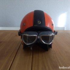 Coches y Motocicletas: PRECIOSO CASCO CON GAFAS CLÍMAX . Lote 104287471