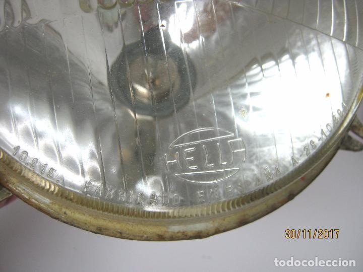 Coches y Motocicletas: SEAT 850 - lote los dos faros focos delanteros originales coche - Foto 2 - 107574794