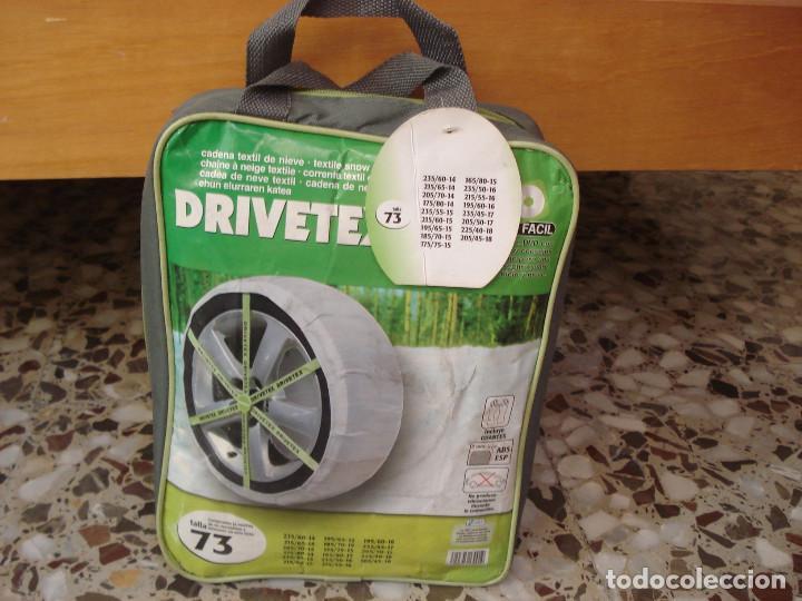 CADENA TEXTIL DE NIEVE DRIVETEX TALLA 73 (Coches y Motocicletas - Repuestos y Piezas (antiguos y clásicos))