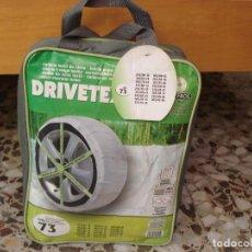 Coches y Motocicletas: CADENA TEXTIL DE NIEVE DRIVETEX TALLA 73. Lote 108232763