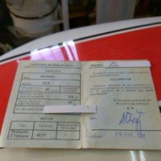 Coches y Motocicletas: MOTO VESPINO CICLOMOTOR DOCUMENTACION CERTIFICADO CICLOMOTOR. Lote 110091254