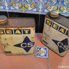 Autos und Motorräder - lote 2 latas aceite detergente super vs - CS - motores seat - fiat - 2 litros - 110216691