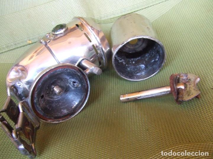Coches y Motocicletas: FARO FAROL LAMPARA JMPEX CARBURO ACETILENO PARA BICICLETA AÑOS 20 - Foto 13 - 110359219