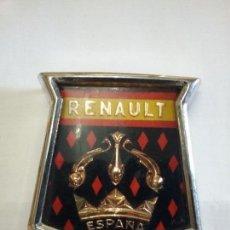 Coches y Motocicletas - Emblema original delantero Renault Dauphine Gordini 1960 - 111454319