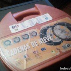 Coches y Motocicletas - CADENAS NIEVE TALLA 90 SIN ESTRENAR - 111868311