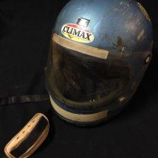 Coches y Motocicletas: ANTIGUO CASCO 1972 CLIMAX JAVELOT ANGEL NIETO. Lote 112919527