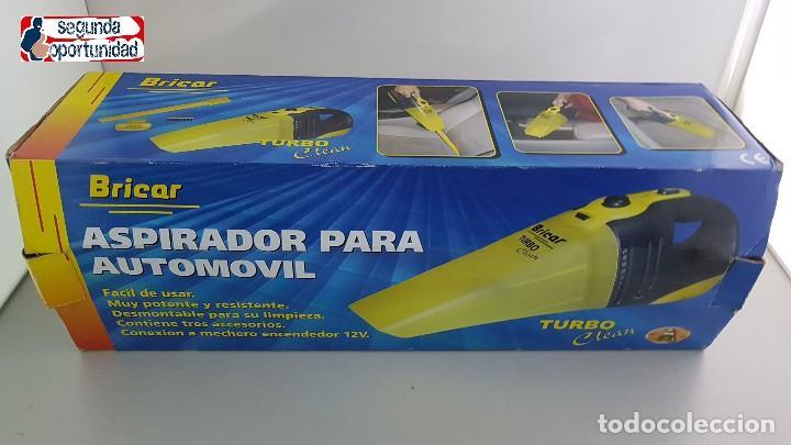 Coches y Motocicletas: Aspirador para automóvil Bricar. Enchufe de mechero. - Foto 2 - 204149675