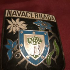 Coches y Motocicletas: PLACA CHAPA COCHE NAVACERRADA. Lote 113350586