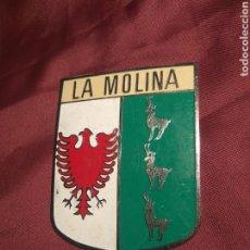 Coches y Motocicletas: PLACA METAL COCHE LA MOLINA. Lote 113370347