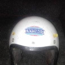 Coches y Motocicletas: CASCO ANTIGUO CARTHAGO.FIBRA DE VIDRIO.. Lote 113720335
