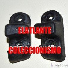 Coches y Motocicletas: SEAT 600 Y 800 - PAREJA DE TOPES DE ASIENTO TRASERO - ORIGINALES Y A ESTRENAR - 27 EUROS. Lote 172587234