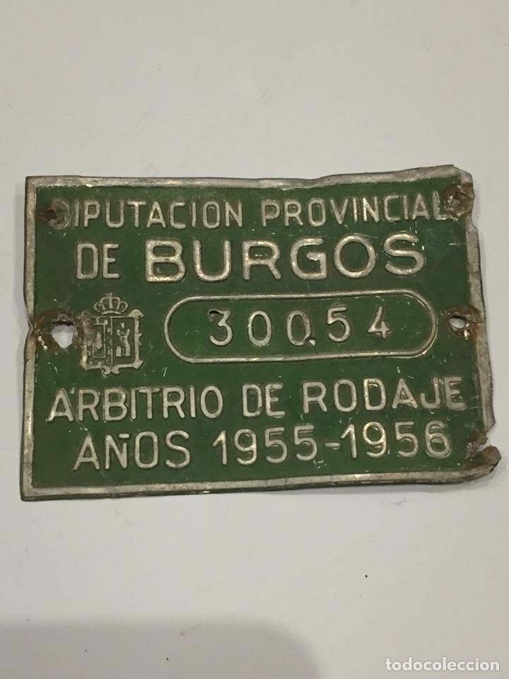 Coches y Motocicletas: Chapa arbitrio de rodaje Burgos - Foto 2 - 114708739